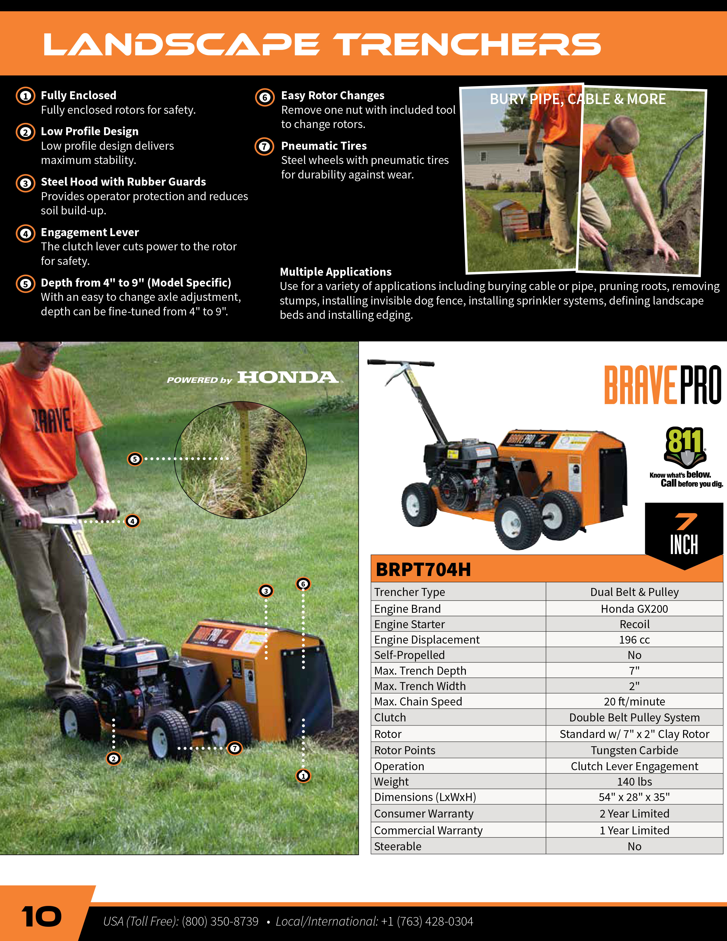 View the Brave Trencher Brochure