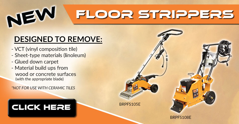 Check out our new Brave Pro floor strippers