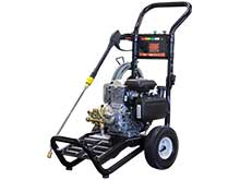 Front Left View of the 160cc Electric Cold Water Pressure Washer