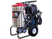 Front Left View of the 120-Volt Electric Hot Water Pressure Washer
