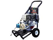 Front Left View of the 390cc Electric Cold Water Pressure Washer