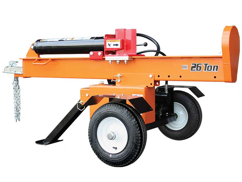 26 Ton Horizontal/Vertical Log Splitter