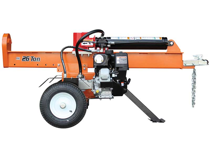 26 Ton Vertical Horizontal Log Splitter Vh1326vn Brave