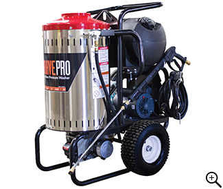 Front Left View of the 120-Volt Electric Cold Water Pressure Washer