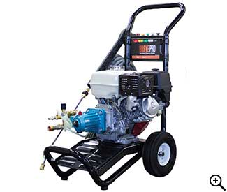 Front Left View of the 270cc Cold Water Pressure Washer