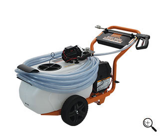 Front View of the BRPBC26HE brush cutter